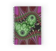 Exploding Tranquility Spiral Notebook