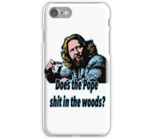 Big Lebowski Philosophy 31 iPhone Case/Skin