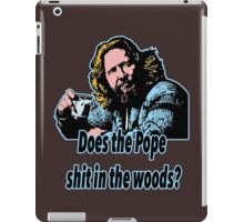 Big Lebowski Philosophy 31 iPad Case/Skin