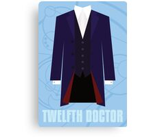 Doctor Who Twelfth Doctor Costume Canvas Print