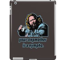 Big Lebowski Philosophy 32 iPad Case/Skin