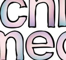 Chi Omega Fade Sticker