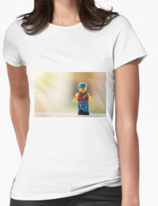 Skater Girl Womens Fitted T-Shirt