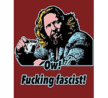 Big Lebowski Philosophy 33 Photographic Print