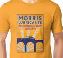 Tin Plate Sign - Morris Lubricants Unisex T-Shirt