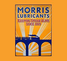 Tin Plate Sign - Morris Lubricants Unisex T-Shirt