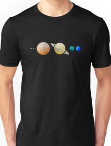 Planets of the Solar System Unisex T-Shirt