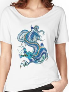 blue dragon Women's Relaxed Fit T-Shirt