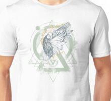 Enigma Dove Illustration Unisex T-Shirt