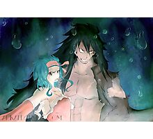 Levy & Gajeel - Air Photographic Print