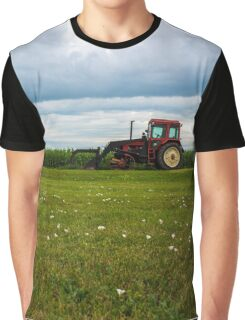Red Tractor Graphic T-Shirt