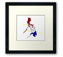 Philippine Islands shirt Framed Print