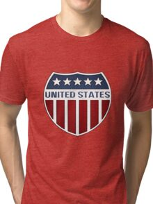 United States Shield Tri-blend T-Shirt