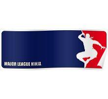 Major League Ninja Poster