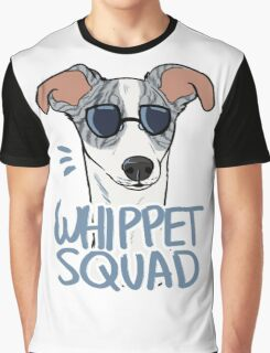 WHIPPET SQUAD (blue brindle) Graphic T-Shirt