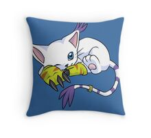 Gatomon - Digimon Throw Pillow