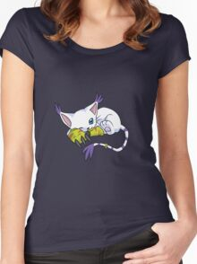 Gatomon - Digimon Women's Fitted Scoop T-Shirt