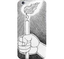 Pen and light iPhone Case/Skin