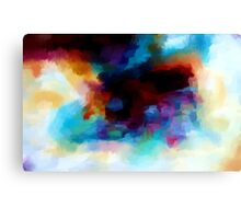 Abstract Nature Landscape Tropical Canvas Print