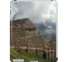 machu picchu photograph iPad Case/Skin