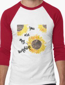 You Are My Sunshine  Men's Baseball ¾ T-Shirt