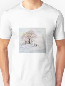 GOING HOME FOR CHRISTMAS Unisex T-Shirt