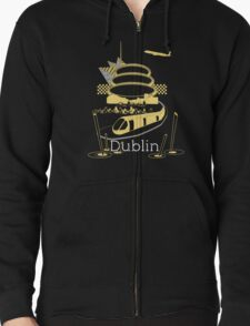 Journey With Dublin Zipped Hoodie