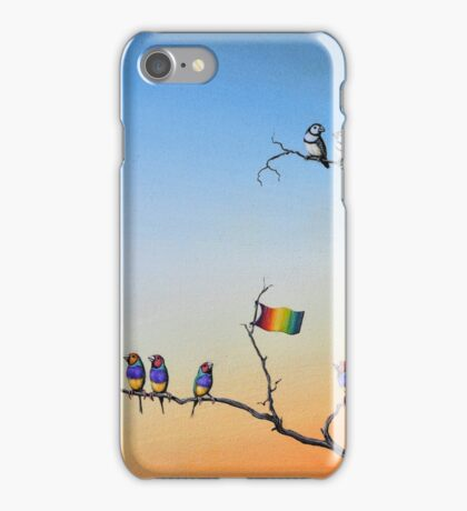 The Hippies Are Here iPhone Case/Skin