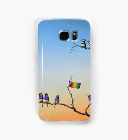The Hippies Are Here Samsung Galaxy Case/Skin