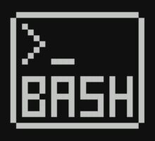 Bash Shell Pixel Drawing for Command Line Hackers Baby Tee