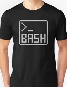 Bash Shell Pixel Drawing for Command Line Hackers T-Shirt
