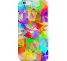 Abstract Geometric Triangles Pattern iPhone Case/Skin