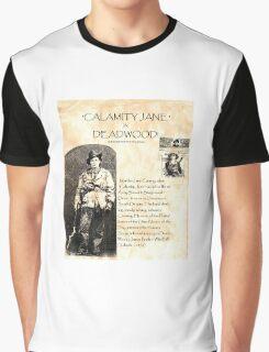 Calamity Jane of Deadwood Graphic T-Shirt