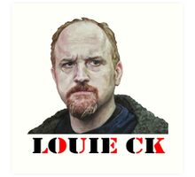 Louie CK Art Print