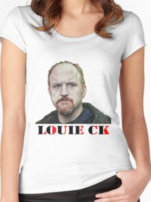 Louie CK Women's Fitted Scoop T-Shirt