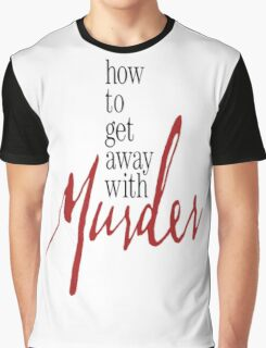 How to Get Away with Murder - Logo Graphic T-Shirt