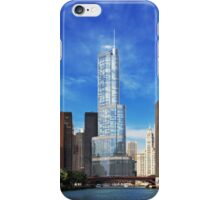 City - Chicago IL - Trump Tower  iPhone Case/Skin