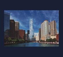 City - Chicago IL - Trump Tower  Kids Tee
