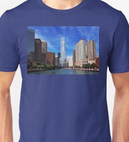 City - Chicago IL - Trump Tower  Unisex T-Shirt