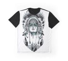 Indian Warrior Graphic T-Shirt