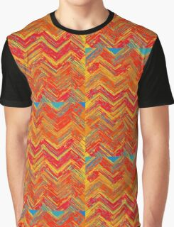 """Tribal Pattern"" Graphic T-Shirt"