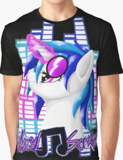 MLP Vinyl Scratch: For The Love Of Music Graphic T-Shirt