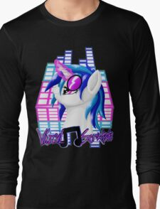 MLP Vinyl Scratch: For The Love Of Music Long Sleeve T-Shirt