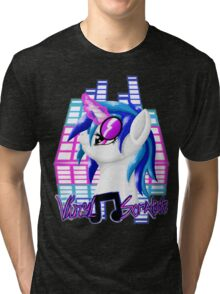 MLP Vinyl Scratch: For The Love Of Music Tri-blend T-Shirt
