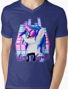 MLP Vinyl Scratch: For The Love Of Music Mens V-Neck T-Shirt