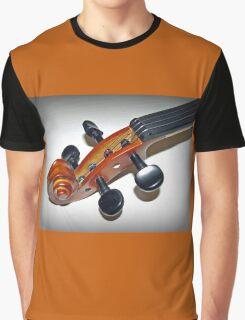 A Violin Vignette Graphic T-Shirt