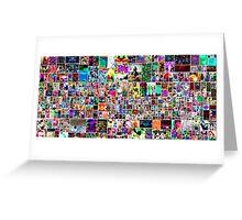 Catalea Bianco Collage Greeting Card