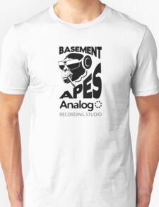 Analog - Basement Apes Recording Studio Unisex T-Shirt