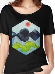 The Poly Landscape 2.0 Women's Relaxed Fit T-Shirt