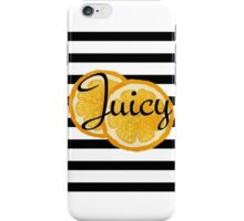 Juicy orange  iPhone Case/Skin